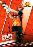 2017//18 TAP N PLAY BBL PARALLEL CARD NO.107 MITCHELL MARSH PERTH SCORCHERS