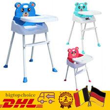 4 in1 Kinderhochstuhl Baby Essstuhl Sitzerhöhung Treppenhochstuhl Klapp bigtop!
