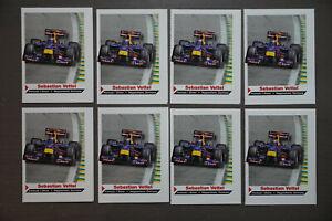 8x Sebastian Vettel ROOKIE Formula 1 Sports Illustrated For Kids #27 RC One