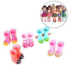 DOLLS CLOTHING RAIN SHOES GIFTS For 16 inch Doll Accessories Random D7L2