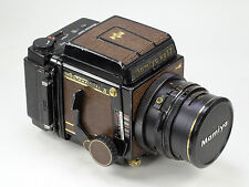 Mamiya RB67 Pro-S Prof. SLR Film Camera, Golden 50th Anniversary lizard skin