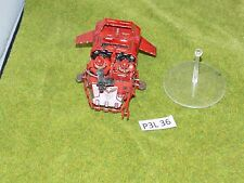 Warhammer 40k SPACE MARINES LAND SPEEDER plastic & metal built painted (P3L 36)