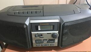 Panasonic RX-DS5 AM/FM Stereo / CD / Cassette Boombox Portable Radio