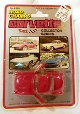 Road Champs '57s Chevrolet Corvette Red w/White 1/64 Scale Hong Kong