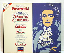 PAVAROTTI, CABALLE, LUDWIG, CHAILLY - GIORDANO Andrea Chenier DECCA 2xCDs NM