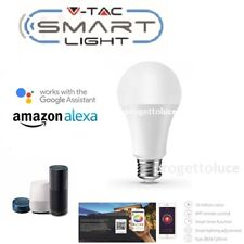 E27 10W Wifi Smart LED RGB W CAL Lampadina per Echo Amazon Alexa Google Home VTA
