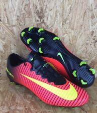 Nike Mercurial Vapor XI ACC FG Crimson/Volt/Black Soccer Cleats 831958-870 Sz 13