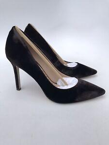 Sam Edelman Hazel Pointed Toe Deep Brown Velvet Heel (Size 7M) $130