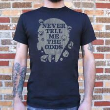 Science Fiction | Never Tell Me The Odds T-Shirt (Mens)
