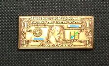 2006 one cache dollar Geocoin Copper finish trackable UNACTIVATED VHTF