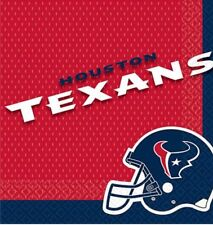One Pack Of 36 Houston Texans Nfl Football Two Ply Napkins