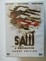 DVD USED SAW L'ENIGMISTA UNCUT EDITION - DANNY GLOVER MONICA POTTER -