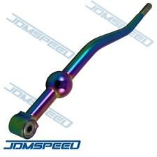 NEO CHROME ALUMINUM Dual Bend Short Throw Shifter for 88-00 civic 90-01 integra