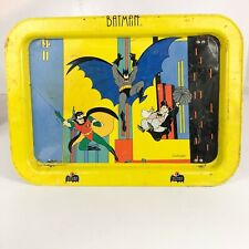 Batman Robin Penguin Metal Folding TV Tray DC comics Animation series VTG 90s