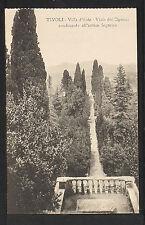 ITALY 784 TIVOLI -Villa d'Este Viale dei Cipressi conducente all'antico Ingreso