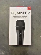Brand New IK Multimedia iRig Mic HD2 Microphone