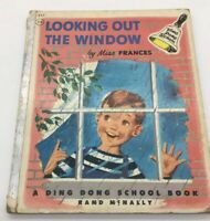 Vintage Miss Frances Ding Dong School Book Looking Out The Window Classic