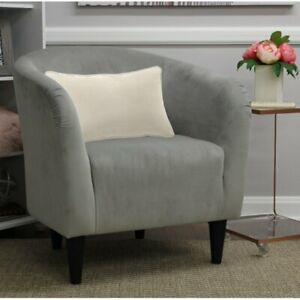 Tub Accent Chair, Dove Gray