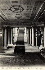 London. Buckingham Palace. The Marble Hall # 330 by LL / Levy. Black & White.