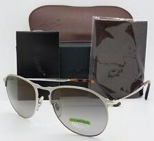 364ad5b772 NEW Persol sunglasses PO7649S 1068 M3 56mm Silver Grey Gradient Polarized  649