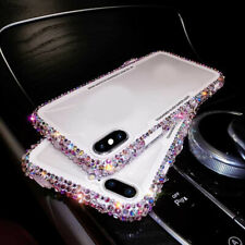 Shiny Bling Diamond Crystal Phone Case Cover for iPhone XS Max XR X 8 7 6S Clear