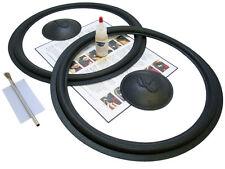 "Complete Infinity 15"" SM150 Speaker Foam Repair Kit w/ Logo Caps - 2INF15-comp"