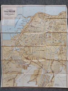 City plan of Odessa 1910 Map Russian Reprint 1994
