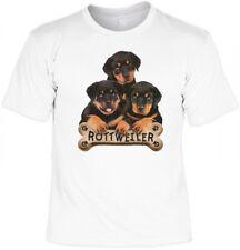 T-Shirt Geschenk - 3 x Rottweiler - Super Idee für echte Hunde Fans