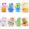Cute 3D Cartoon Animal Soft Silicone Rubber Case Cover Skin For Mobile Phones