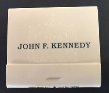 JOHN F KENNEDY MATCHBOOK WITH PRESIDENTIAL SEAL 1980'S REPRODUCTION