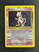 Pokemon Mewtwo Holo Base Set #10/102 PL (T) (I T A L I A N)