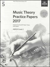 ABRSM Music Theory Practice Papers 2017 Grade 5 Past Exam Questions Music Book