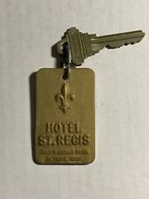 Hotel St, Regis Motel Room Key Fob with Key Detroit Michigan VERY RARE