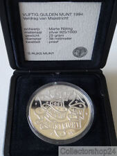 Netherlands Beatrix 50 Guilder 1994 Silver Coin Proof