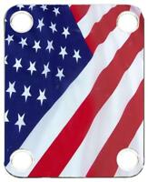 Neck Plate Guitar Color Graphic PJ Bass Flag US Patriot 2