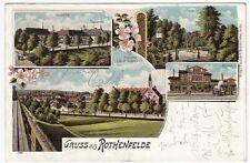 Eisenbahn & Bahnhof Lithographien vor 1914 aus Niedersachsen