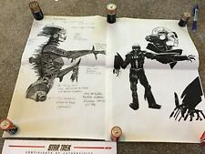 Star Trek First Contact Borg Queen Concept Artwork signed and certified