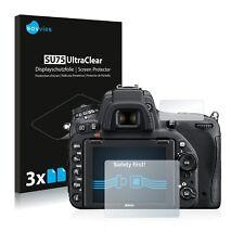 6x Savvies Films protection Ecran pour Nikon D750 Protecteur