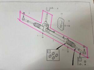 VOLVO XC60. (-17)  NEW AND GENUINE ELECTRO HYDRAULIC STEERING RACK  36001641