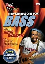 New Dimensions For Bass (DVD, 2005) Doug Wimbish