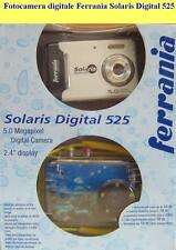 Fotocamera digitale Ferrania Solaris Digital 525 + custodia Sub. -