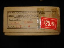 Island Creek Company Store Coal Mine Scrip Coupons Unopened Box 90 Uncirculated
