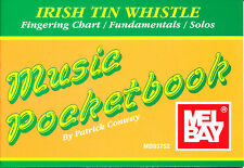 Irish Tin Whistle Pocket Book Combo
