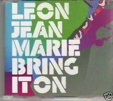 (122I) Leon Jean Marie, Bring It On - DJ CD