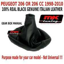 1998-2010 PEUGEOT 206 206CC HDI GTI SW GLX XS L REAL QUALITY GEAR STICK GAITER