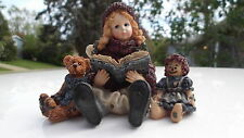 BOYDS BEARS AND FRIENDS 1995 DOLLHOUSE COLLECTION YESTERDAYS CHILD FIGURE
