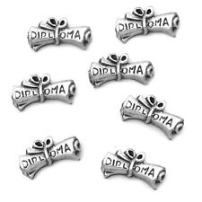 Scroll Diploma Floating Charm For Living Memory Locket Necklaces