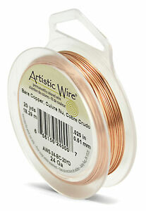 Beadalon Artistic Wire - 24 gauge (0.51 mm) Standard Colours (Various Available)