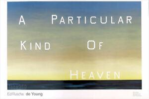 Ed Ruscha A Particular Kind Of Heaven Pop Art Poster 24 x 36