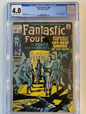 Fantastic Four #87 - CGC 4.0 - Marvel 1969